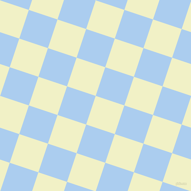 72/162 degree angle diagonal checkered chequered squares checker pattern checkers background, 99 pixel square size, , Spring Sun and Pale Cornflower Blue checkers chequered checkered squares seamless tileable