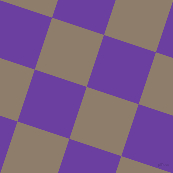 72/162 degree angle diagonal checkered chequered squares checker pattern checkers background, 180 pixel square size, , Squirrel and Royal Purple checkers chequered checkered squares seamless tileable