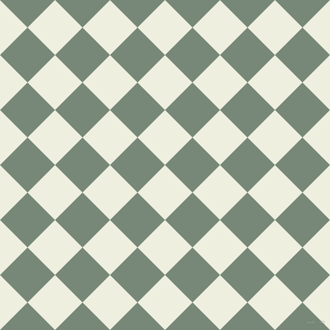 45/135 degree angle diagonal checkered chequered squares checker pattern checkers background, 80 pixel squares size, , Sugar Cane and Davy