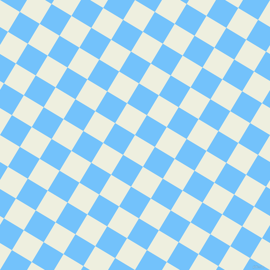59/149 degree angle diagonal checkered chequered squares checker pattern checkers background, 74 pixel squares size, , Sugar Cane and Maya Blue checkers chequered checkered squares seamless tileable