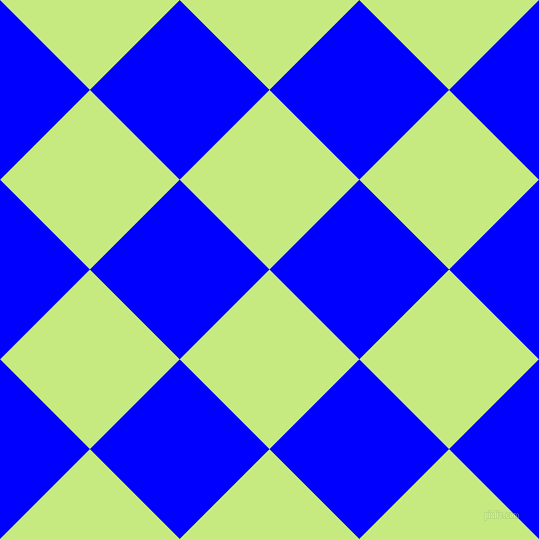 45/135 degree angle diagonal checkered chequered squares checker pattern checkers background, 127 pixel squares size, , Sulu and Blue checkers chequered checkered squares seamless tileable