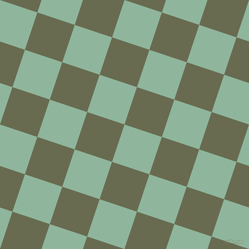 72/162 degree angle diagonal checkered chequered squares checker pattern checkers background, 77 pixel square size, , Summer Green and Siam checkers chequered checkered squares seamless tileable