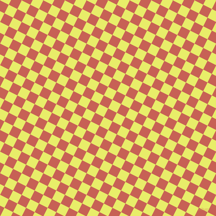 63/153 degree angle diagonal checkered chequered squares checker pattern checkers background, 31 pixel square size, , Sunglo and Honeysuckle checkers chequered checkered squares seamless tileable