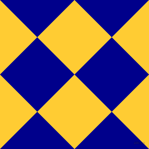 45/135 degree angle diagonal checkered chequered squares checker pattern checkers background, 175 pixel squares size, , Sunglow and Dark Blue checkers chequered checkered squares seamless tileable