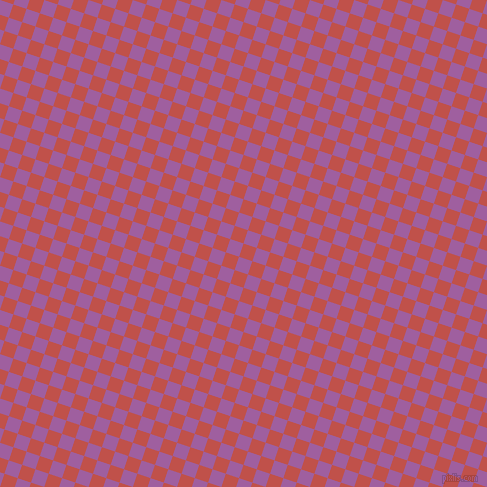 72/162 degree angle diagonal checkered chequered squares checker pattern checkers background, 14 pixel square size, , Sunset and Violet Blue checkers chequered checkered squares seamless tileable