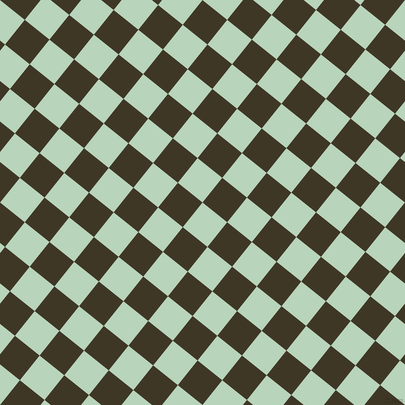 51/141 degree angle diagonal checkered chequered squares checker pattern checkers background, 64 pixel square size, , Surf and Birch checkers chequered checkered squares seamless tileable