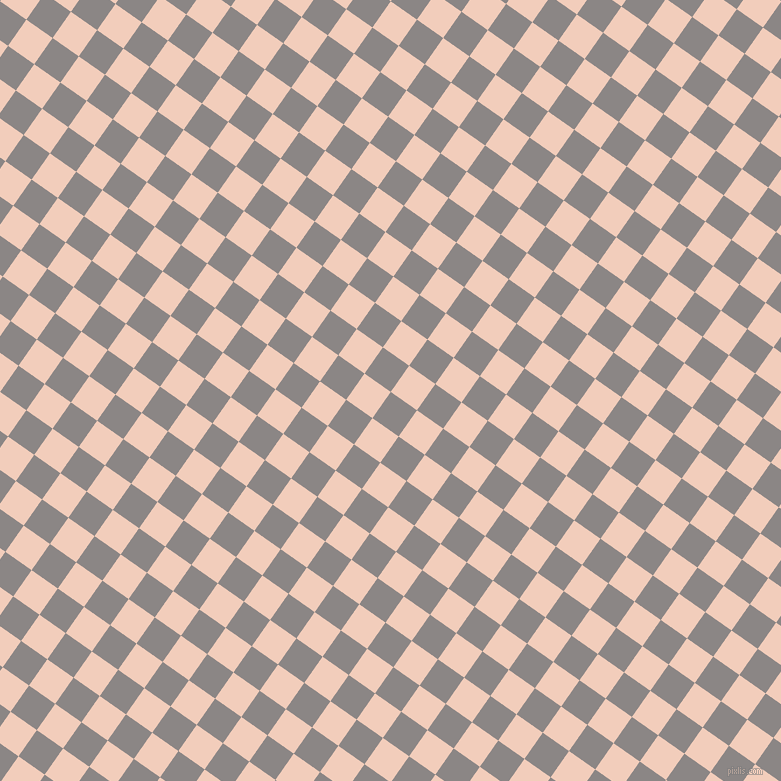 55/145 degree angle diagonal checkered chequered squares checker pattern checkers background, 32 pixel squares size, , Suva Grey and Watusi checkers chequered checkered squares seamless tileable