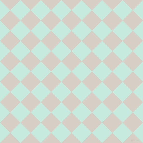 45/135 degree angle diagonal checkered chequered squares checker pattern checkers background, 60 pixel squares size, , Swirl and Mint Tulip checkers chequered checkered squares seamless tileable