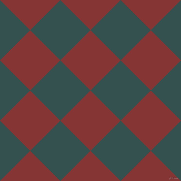 45/135 degree angle diagonal checkered chequered squares checker pattern checkers background, 176 pixel square size, , Tall Poppy and Blue Dianne checkers chequered checkered squares seamless tileable