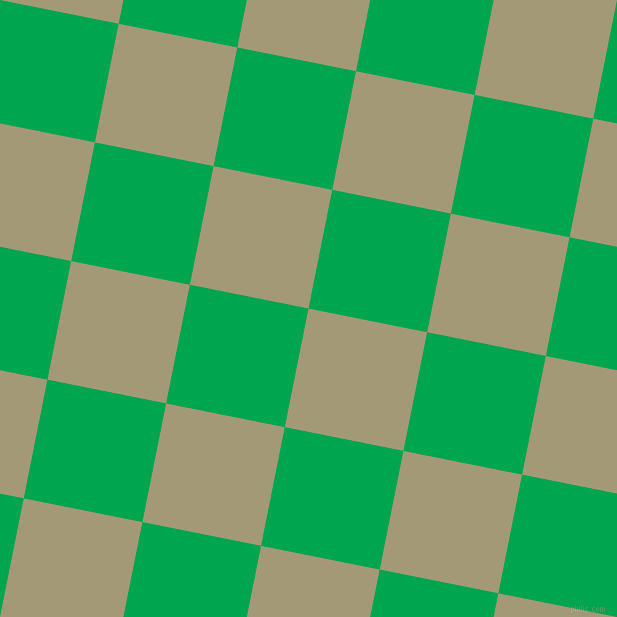 79/169 degree angle diagonal checkered chequered squares checker pattern checkers background, 121 pixel squares size, , Tallow and Pigment Green checkers chequered checkered squares seamless tileable