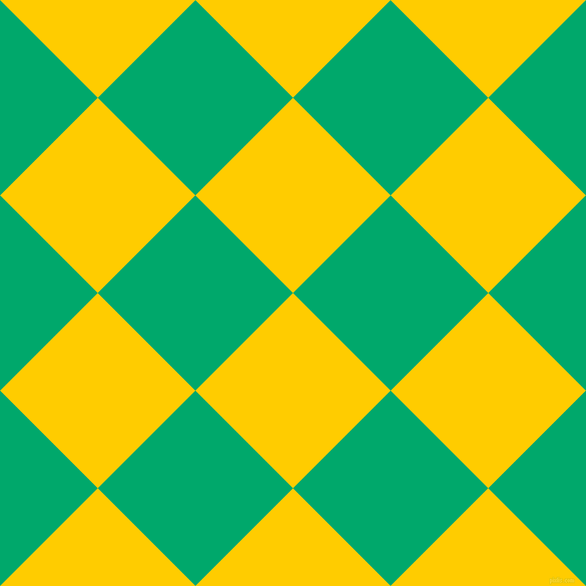 45/135 degree angle diagonal checkered chequered squares checker pattern checkers background, 196 pixel squares size, , Tangerine Yellow and Jade checkers chequered checkered squares seamless tileable