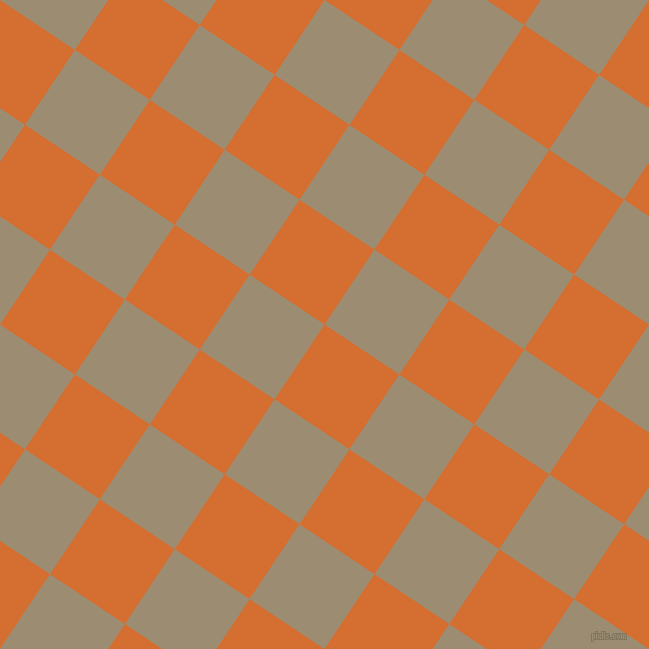 56/146 degree angle diagonal checkered chequered squares checker pattern checkers background, 90 pixel squares size, , Tango and Pale Oyster checkers chequered checkered squares seamless tileable