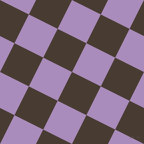 63/153 degree angle diagonal checkered chequered squares checker pattern checkers background, 107 pixel squares size, , Taupe and East Side checkers chequered checkered squares seamless tileable