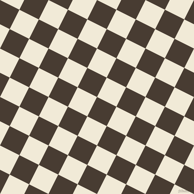 63/153 degree angle diagonal checkered chequered squares checker pattern checkers background, 73 pixel squares size, , Taupe and Half Pearl Lusta checkers chequered checkered squares seamless tileable