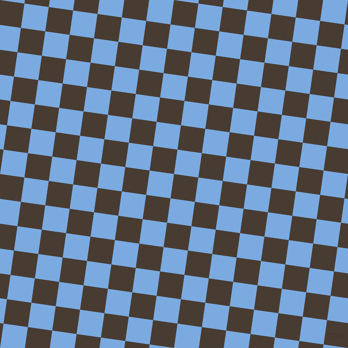 82/172 degree angle diagonal checkered chequered squares checker pattern checkers background, 48 pixel squares size, , Taupe and Jordy Blue checkers chequered checkered squares seamless tileable