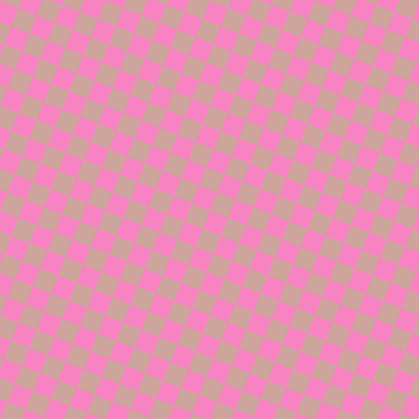 68/158 degree angle diagonal checkered chequered squares checker pattern checkers background, 28 pixel squares size, Tea Rose and Eunry checkers chequered checkered squares seamless tileable