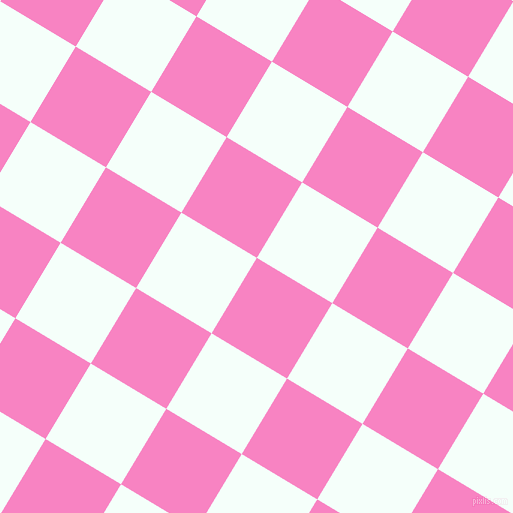 59/149 degree angle diagonal checkered chequered squares checker pattern checkers background, 88 pixel square size, , Tea Rose and Mint Cream checkers chequered checkered squares seamless tileable