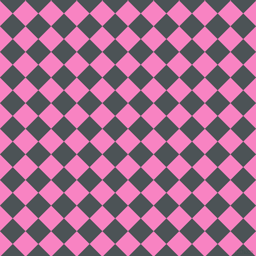 45/135 degree angle diagonal checkered chequered squares checker pattern checkers background, 37 pixel squares size, , Tea Rose and Trout checkers chequered checkered squares seamless tileable