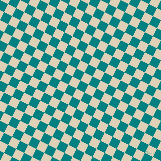 63/153 degree angle diagonal checkered chequered squares checker pattern checkers background, 29 pixel squares size, , Teal and Spanish White checkers chequered checkered squares seamless tileable