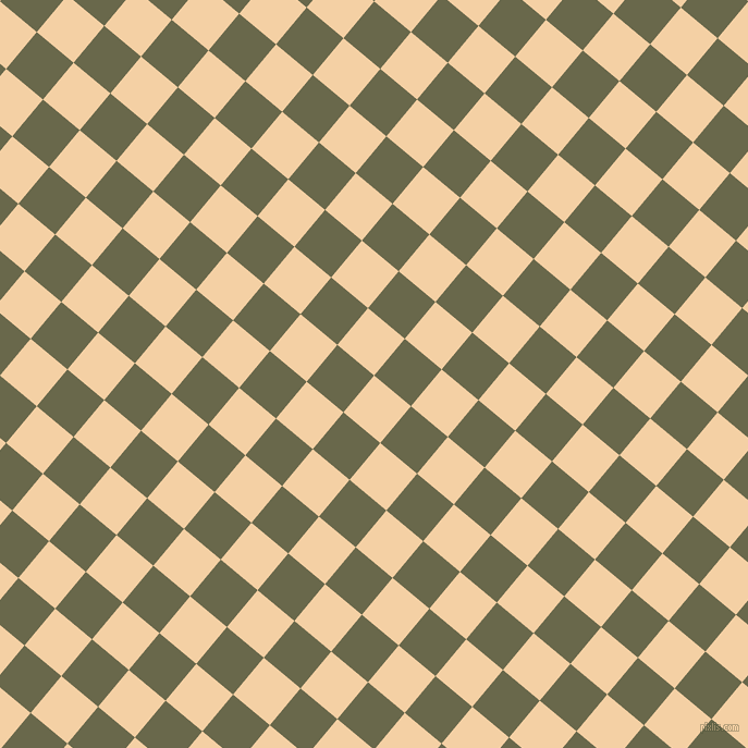 50/140 degree angle diagonal checkered chequered squares checker pattern checkers background, 44 pixel square size, , Tequila and Hemlock checkers chequered checkered squares seamless tileable