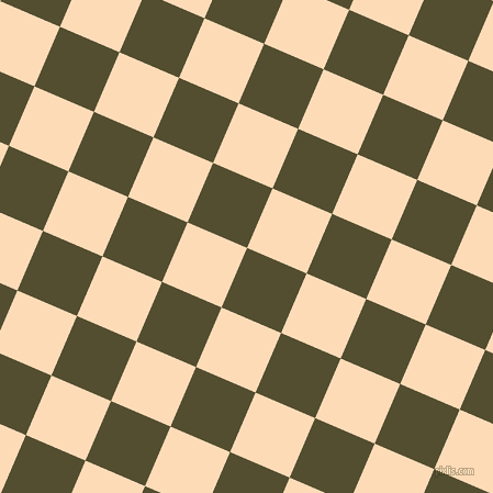 67/157 degree angle diagonal checkered chequered squares checker pattern checkers background, 59 pixel squares size, , Thatch Green and Sandy Beach checkers chequered checkered squares seamless tileable