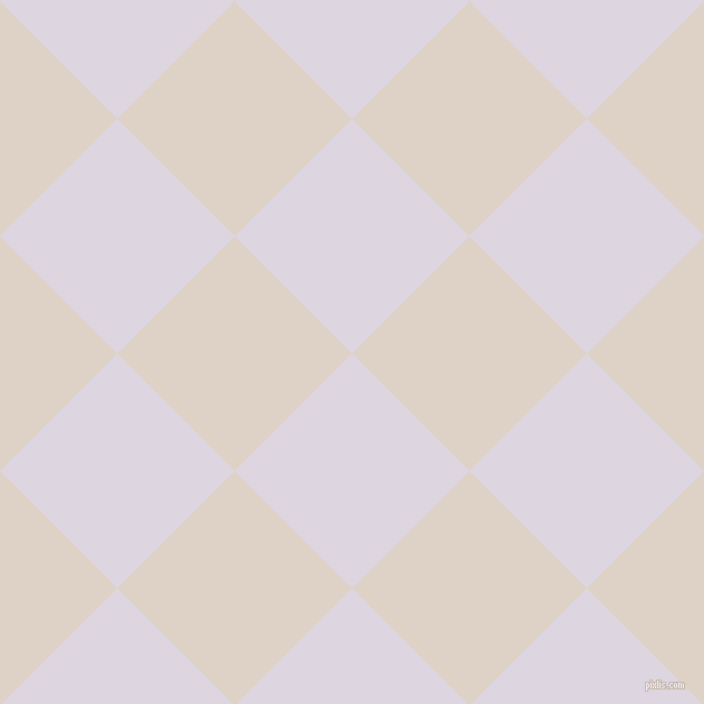 45/135 degree angle diagonal checkered chequered squares checker pattern checkers background, 149 pixel square size, , Titan White and Pearl Bush checkers chequered checkered squares seamless tileable