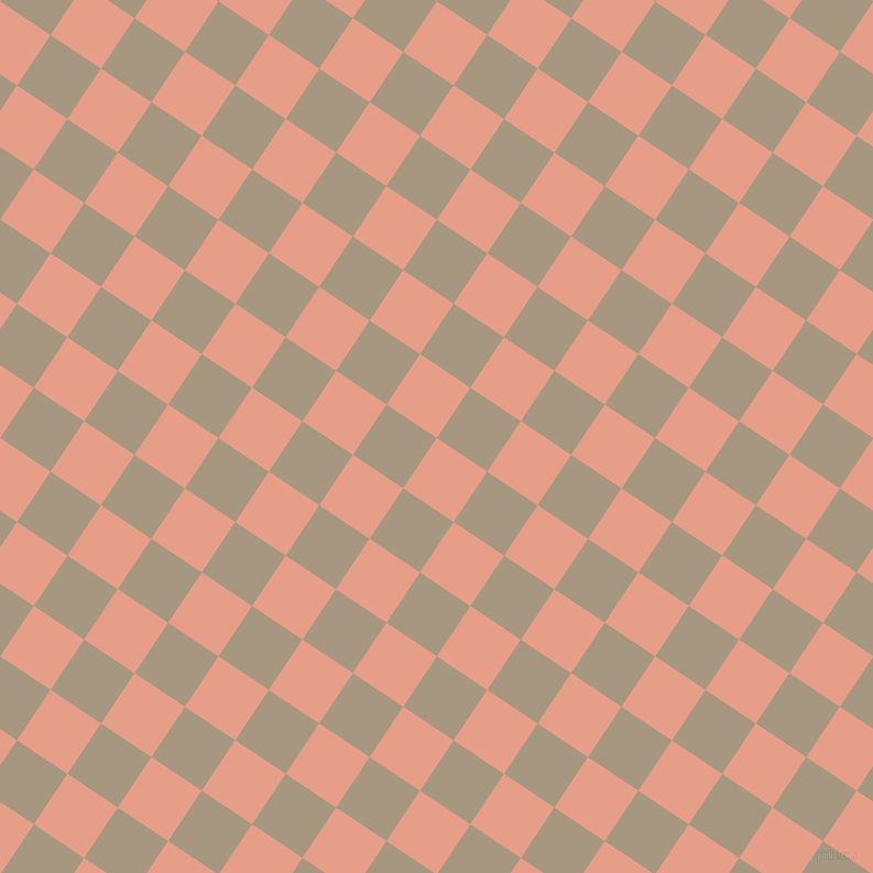 56/146 degree angle diagonal checkered chequered squares checker pattern checkers background, 55 pixel square size, , Tonys Pink and Bronco checkers chequered checkered squares seamless tileable