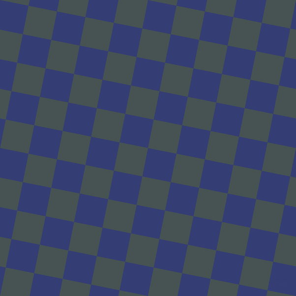79/169 degree angle diagonal checkered chequered squares checker pattern checkers background, 59 pixel squares size, Torea Bay and Dark Slate checkers chequered checkered squares seamless tileable