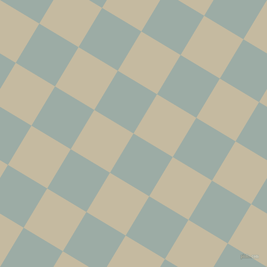 59/149 degree angle diagonal checkered chequered squares checker pattern checkers background, 90 pixel squares size, , Tower Grey and Sisal checkers chequered checkered squares seamless tileable