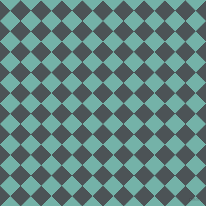 45/135 degree angle diagonal checkered chequered squares checker pattern checkers background, 50 pixel square size, , Trout and Gulf Stream checkers chequered checkered squares seamless tileable