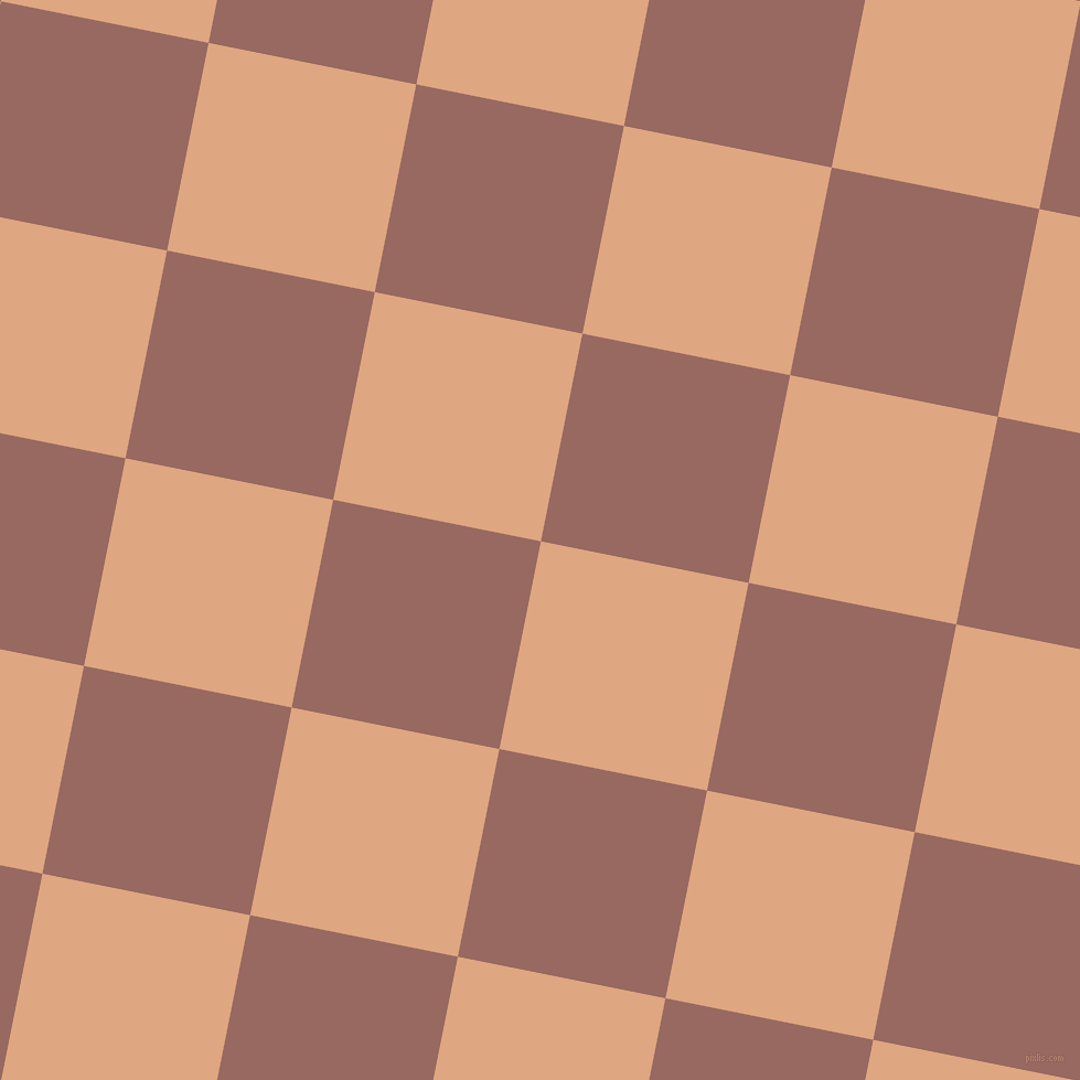 79/169 degree angle diagonal checkered chequered squares checker pattern checkers background, 192 pixel square size, , Tumbleweed and Dark Chestnut checkers chequered checkered squares seamless tileable