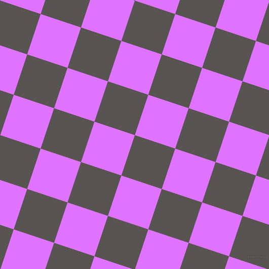 72/162 degree angle diagonal checkered chequered squares checker pattern checkers background, 84 pixel squares size, Tundora and Heliotrope checkers chequered checkered squares seamless tileable
