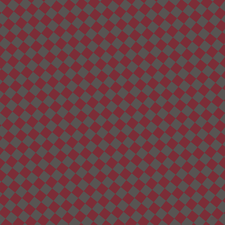 51/141 degree angle diagonal checkered chequered squares checker pattern checkers background, 28 pixel squares size, , Tundora and Paprika checkers chequered checkered squares seamless tileable