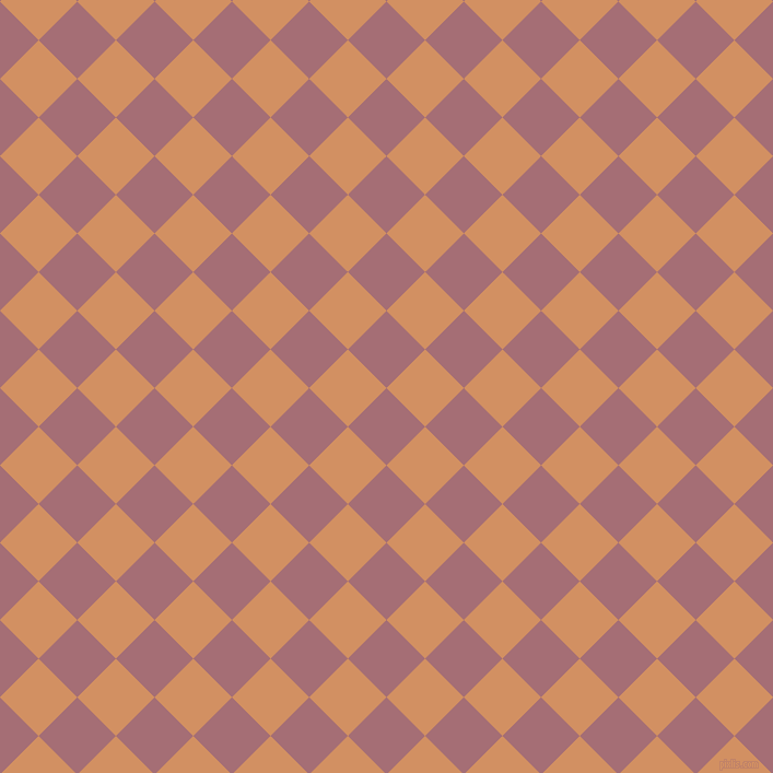 45/135 degree angle diagonal checkered chequered squares checker pattern checkers background, 50 pixel square size, , Turkish Rose and Whiskey checkers chequered checkered squares seamless tileable