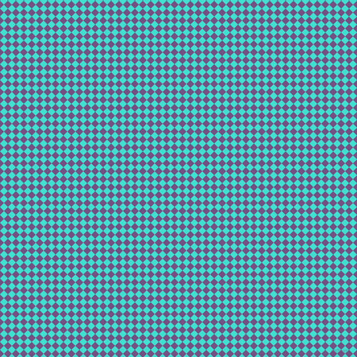 45/135 degree angle diagonal checkered chequered squares checker pattern checkers background, 11 pixel squares size, , Turquoise and Affair checkers chequered checkered squares seamless tileable