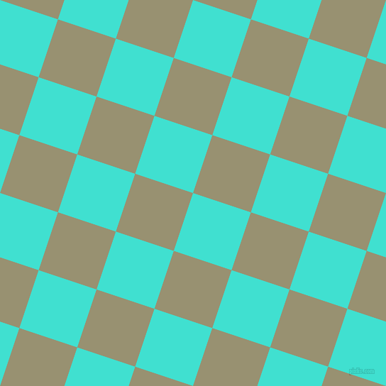 72/162 degree angle diagonal checkered chequered squares checker pattern checkers background, 86 pixel square size, , Turquoise and Gurkha checkers chequered checkered squares seamless tileable