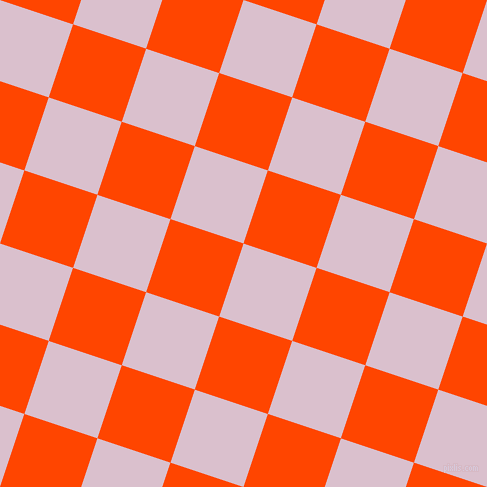 72/162 degree angle diagonal checkered chequered squares checker pattern checkers background, 77 pixel square size, , Twilight and Orange Red checkers chequered checkered squares seamless tileable
