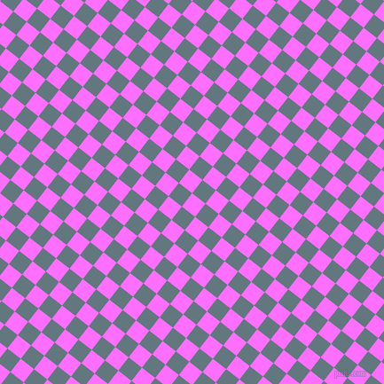 52/142 degree angle diagonal checkered chequered squares checker pattern checkers background, 19 pixel square size, , Ultra Pink and Blue Bayoux checkers chequered checkered squares seamless tileable