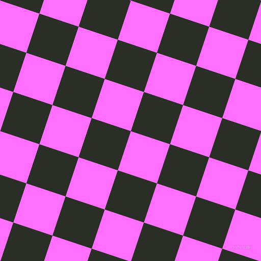 72/162 degree angle diagonal checkered chequered squares checker pattern checkers background, 81 pixel square size, , Ultra Pink and Marshland checkers chequered checkered squares seamless tileable