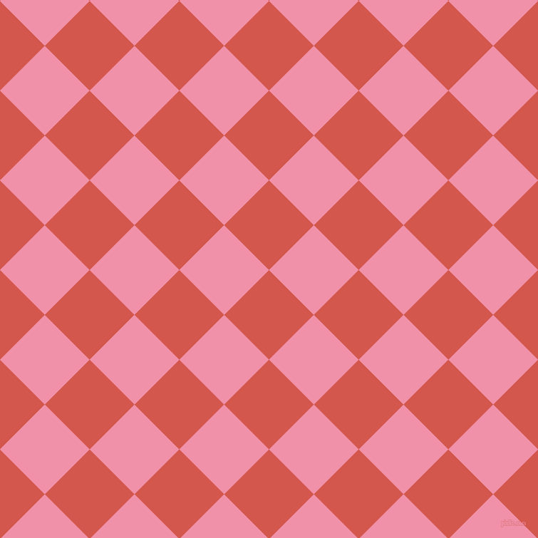 45/135 degree angle diagonal checkered chequered squares checker pattern checkers background, 89 pixel square size, , Valencia and Mauvelous checkers chequered checkered squares seamless tileable