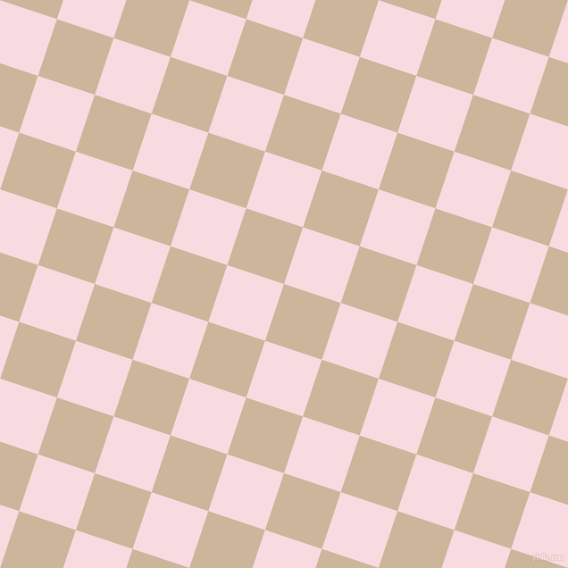 72/162 degree angle diagonal checkered chequered squares checker pattern checkers background, 67 pixel squares size, , Vanilla and Carousel Pink checkers chequered checkered squares seamless tileable