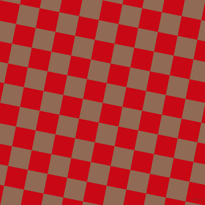 79/169 degree angle diagonal checkered chequered squares checker pattern checkers background, 66 pixel squares size, , Venetian Red and Leather checkers chequered checkered squares seamless tileable