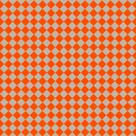 45/135 degree angle diagonal checkered chequered squares checker pattern checkers background, 21 pixel square size, , Vermilion and Tea checkers chequered checkered squares seamless tileable