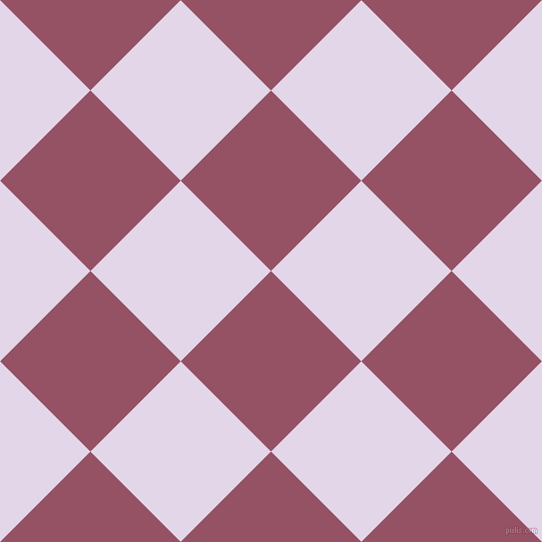 45/135 degree angle diagonal checkered chequered squares checker pattern checkers background, 143 pixel square size, , Vin Rouge and Blue Chalk checkers chequered checkered squares seamless tileable