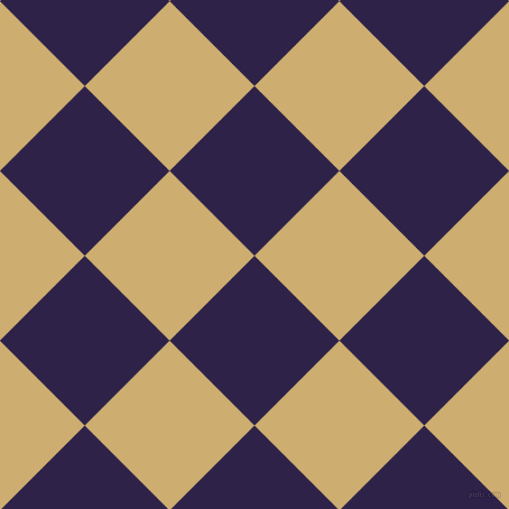 45/135 degree angle diagonal checkered chequered squares checker pattern checkers background, 133 pixel square size, Violent Violet and Putty checkers chequered checkered squares seamless tileable