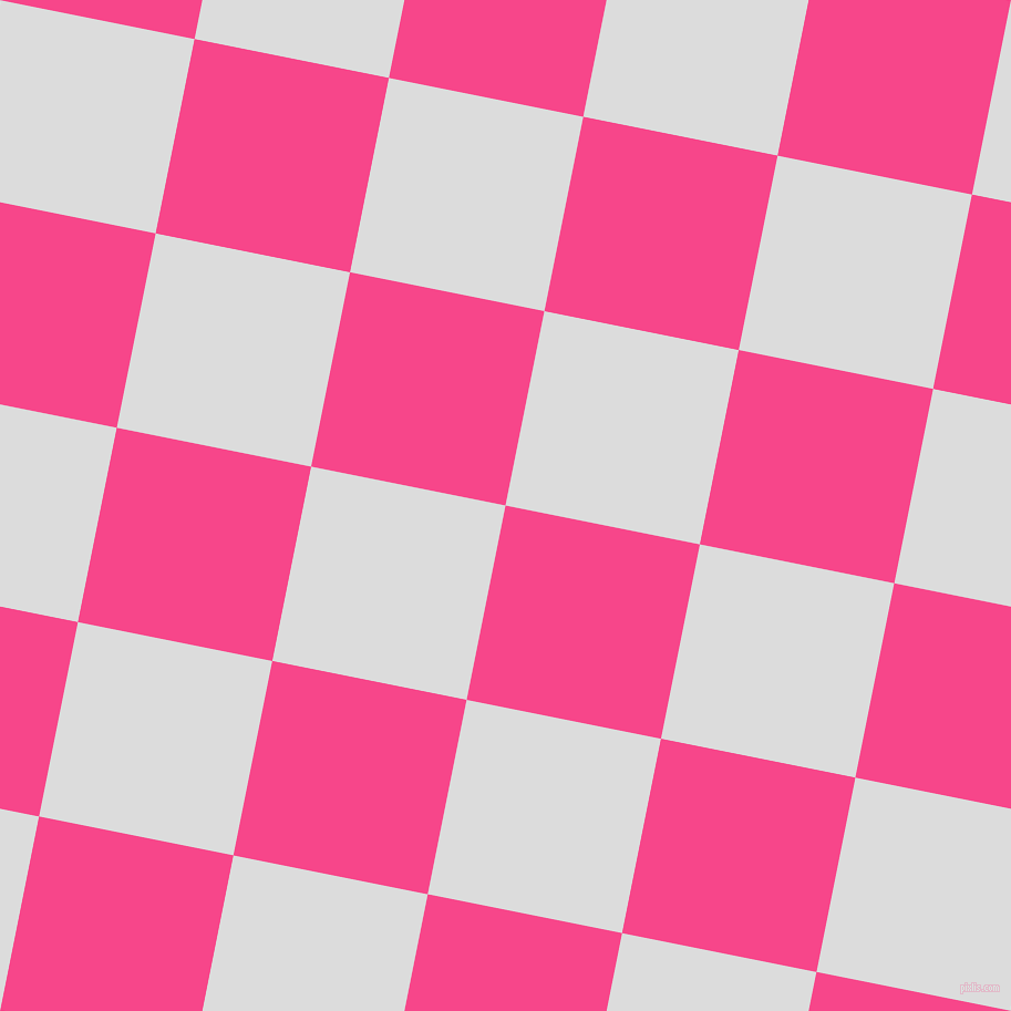 79/169 degree angle diagonal checkered chequered squares checker pattern checkers background, 179 pixel squares size, , Violet Red and Gainsboro checkers chequered checkered squares seamless tileable