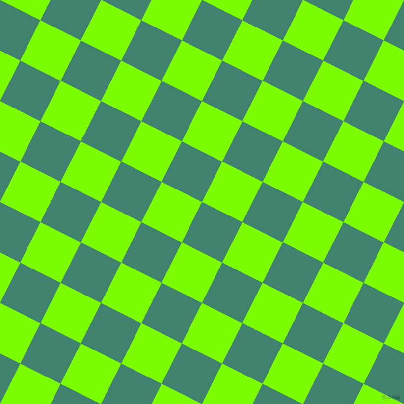 63/153 degree angle diagonal checkered chequered squares checker pattern checkers background, 92 pixel square size, Viridian and Lawn Green checkers chequered checkered squares seamless tileable