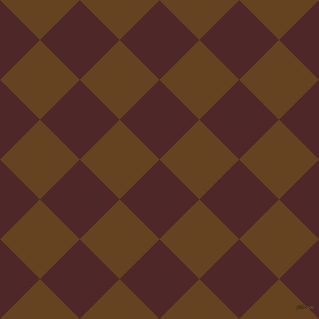 45/135 degree angle diagonal checkered chequered squares checker pattern checkers background, 115 pixel square size, , Volcano and Dark Brown checkers chequered checkered squares seamless tileable