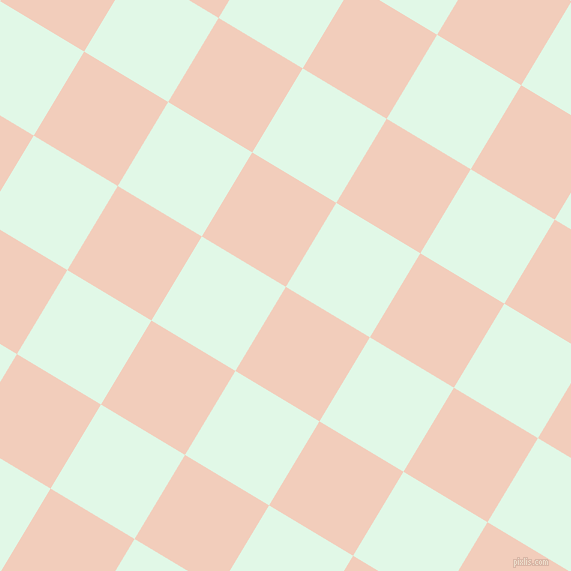 59/149 degree angle diagonal checkered chequered squares checker pattern checkers background, 98 pixel squares size, , Watusi and Cosmic Latte checkers chequered checkered squares seamless tileable