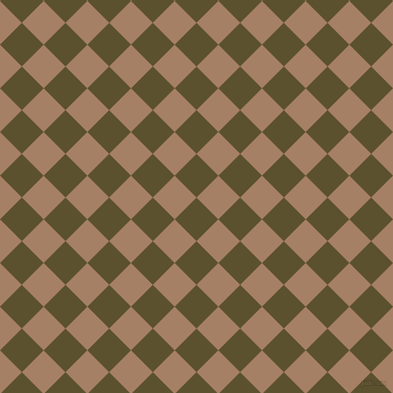 45/135 degree angle diagonal checkered chequered squares checker pattern checkers background, 44 pixel squares size, , West Coast and Medium Wood checkers chequered checkered squares seamless tileable